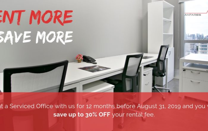 August Bangkok Office Promotion Antares Offices
