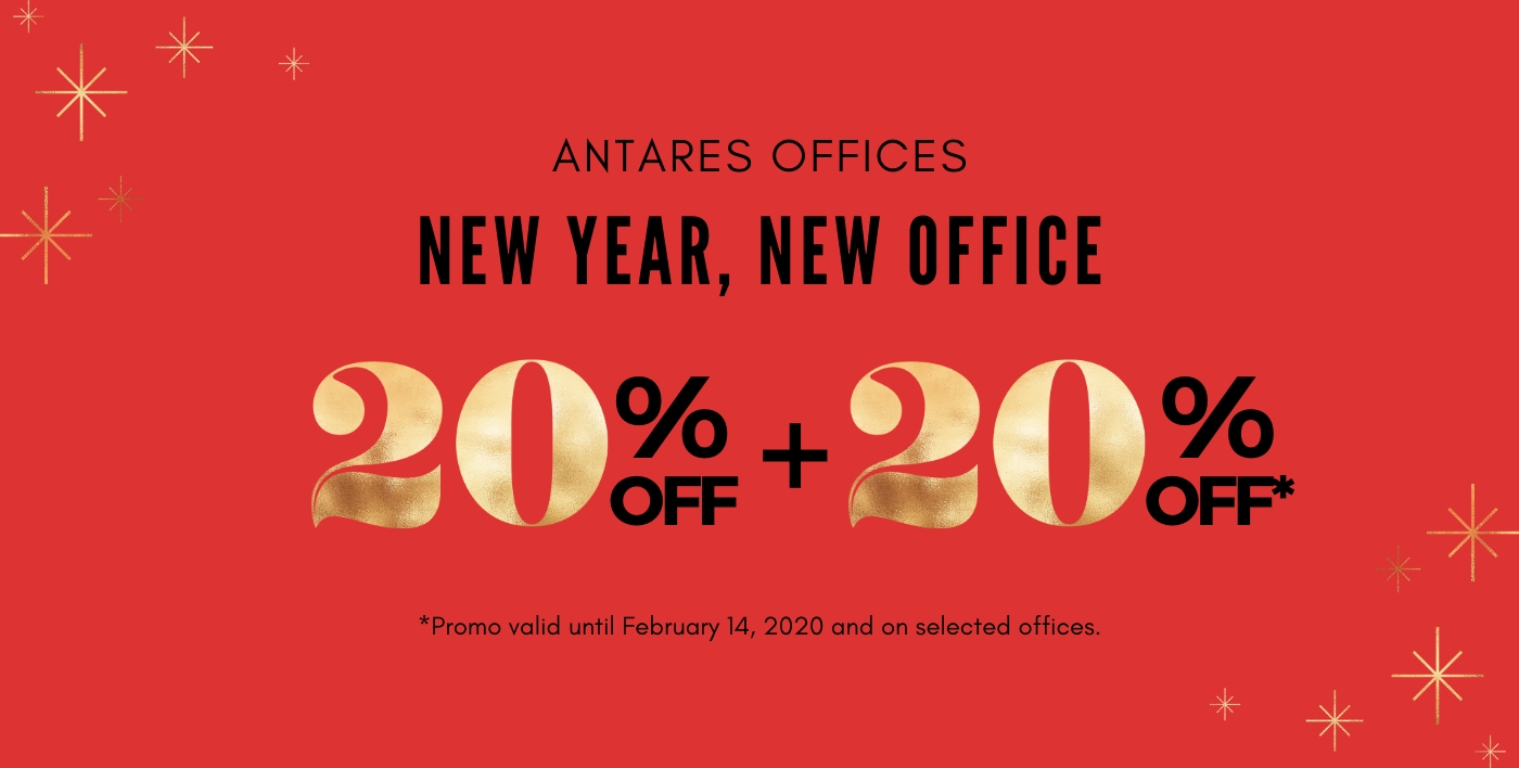 Antares Serviced Offices February Promotion