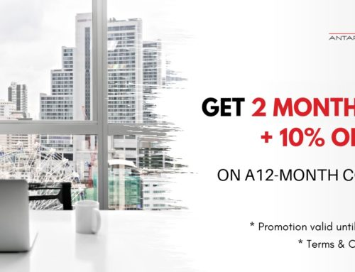 Serviced Office May Promotion – Get 2 Months FREE + 10% OFF