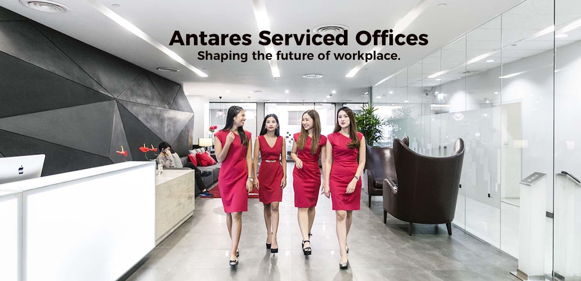 Antares Serviced Offices Bangkok