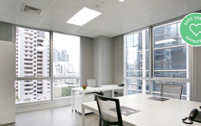Antares Offices Bangkok Safe Workspaces