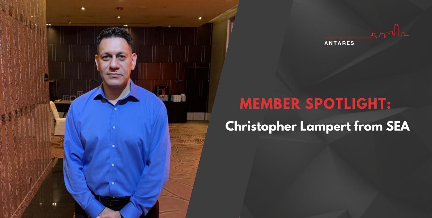 MEMBER SPOTLIGHT: Christopher Lampert